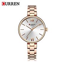 CURREN 9017 Women Watch New Quartz Top Brand Luxury Fashion Wristwatches Ladies Gift