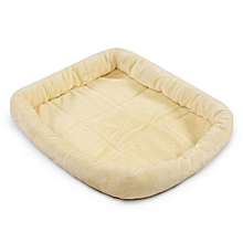 Oxgord Pet Bed Cushion Mat Pad Dog Cat Cage Kennel Crate Warm Cozy Soft House 80x55cm