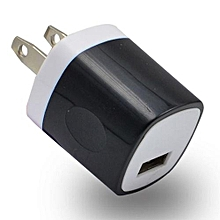 Home Wall Travel AC Power Charger Adapter For IPhone For Samsung Galaxy S7 BK