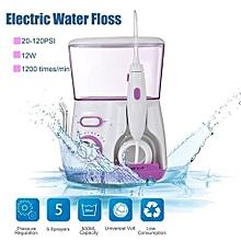 Waterpulse Water Jet Pick Flosser Oral Irrigator Teeth Cleaner Dental Care 12W Pink