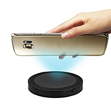 Q5 Wireless Charger Pad Qi Enabled Devices - Black