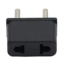 US USA To EU Euro Europe AC Power Plug Travel Converter Charger Adapter (Intl)