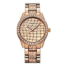 Rose Gold Quartz Womens' Wrist Watch