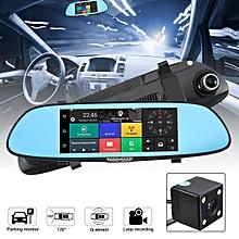 HD 1080P 7'' Video Recorder G-sensor Dash Cam Rearview Mirror Camera DVR HOT