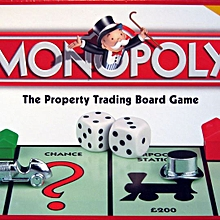 Monopoly Property Trading Game Family Board Game 2 to 8 Players