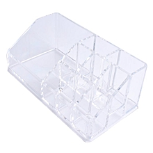 Home-Practical Design Desktop Makeup Organizer Storage Box Make Up Organizer Transparent