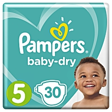 Baby Dry Junior 30 Count, Size 5