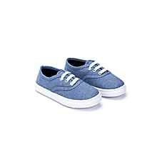 Blue Fashionable Shoes