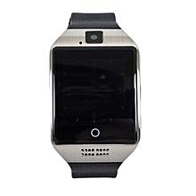 Q18 Apro Smart Watch Phone - 128MB ROM - 64MB RAM - 4MP Camera -Single SIM -  Black/silver
