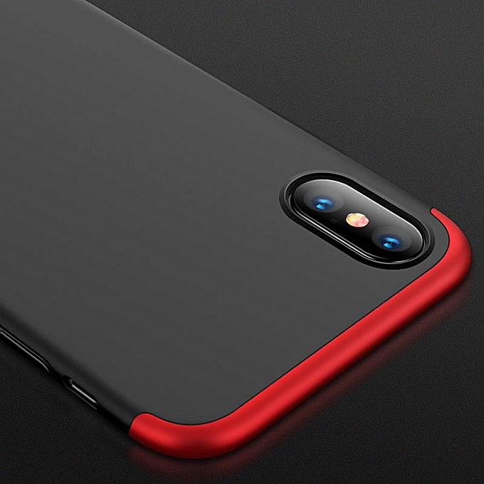51888906963 ... Case For IPhone XS Max Case 360 Degree Full Protection Hard PC 3 In 1  Matte ...