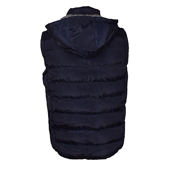 378906de22dd5 Generic Navy Blue Sleeveless Half Puff Jacket   Best Price