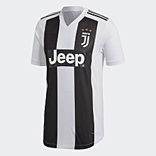 The New Juventus 2018/2019 Home Kit Football Jersey Shirt White and Black