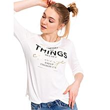 Cream Fashionable Standard T-Shirt