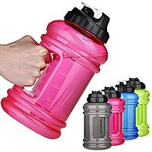 2PCS 2.2L Big BPA Free Sport Gym Training Drink Water Bottle Cap Kettle Workout Hot