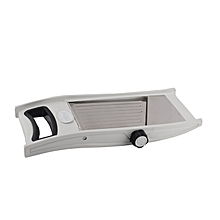 Stainless Steel Auto Rotate Slicer - Grey .