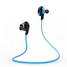 Wireless Bluetooth Headphone Stereo Sport Running Earphone -Intl (Color:Blue)