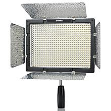 YN600L 36W 600-LED 5500K 4680lm Video Light W/ Filters - Black