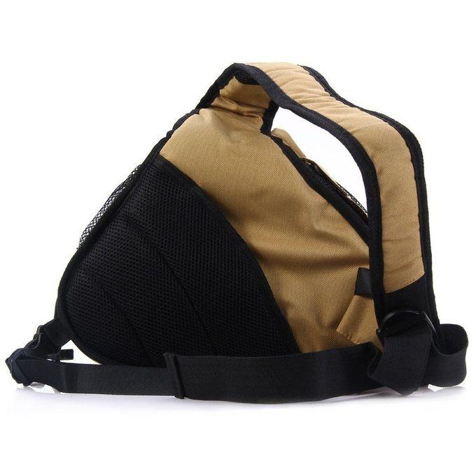 Caden Caden K1 Triangle Crossbody Shoulder Bag For Canon ...