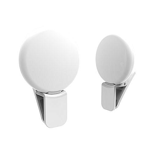 Mini Phone Camera Selfie Light -White