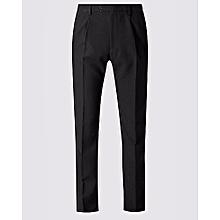 Men`s Black Formal Trouser
