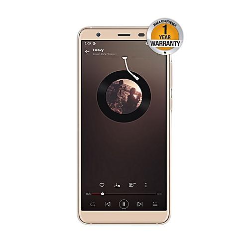 "S1 - 5.5"" - 8GB - 1GB RAM - (8MP+5MP) Dual Camera, 3G (Dual SIM), Gold"