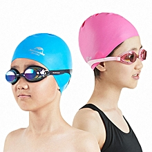Naturehike Silicon Swimming Cap Kids Waterproof Anti-chlorine Elastic Scrubbing Ear Protection Child