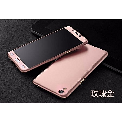 reputable site cc918 6a434 For Oppo F1 Plus 360 Degree Protection Matte Case Cover Casing 206352 (As  Main Picture)