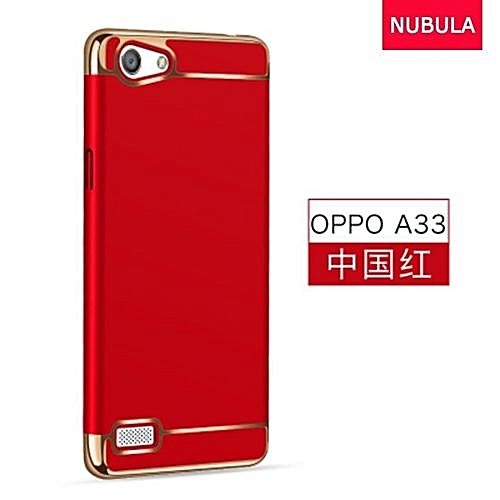 buy online 1b8b9 ac067 Phone Case For OPPO A33 / NEO7 3 In 1 Hard PC Protective Back Cover  Case/Anti Falling Phone Cover/Shockproof Phone Case With Metal Ring  (Color:c4)