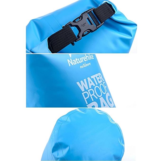 180172ac8a ... Naturehike 2l Outdoor Pvc Cloth Trekking River Drifting Waterproof Bag  Ultralight Swimming Bag(orange) ...