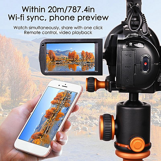 24 million PX Video Camera Digital 8X Zoom With WiFi Microphone 1080P HD 3