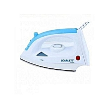 Steam Iron Box - 1200W - White & Blue