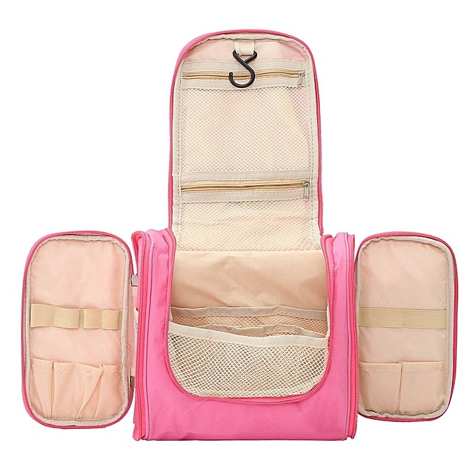 ec08cb19388 ... Toiletry Bag   Makeup Organizer   Cosmetic Bag   Portable Travel Kit  Organizer   Household Storage ...