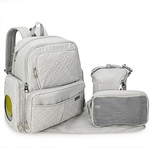 0359b60b8be0 UNIVERSAL Multifunction Diaper Mummy Nappy Backpack Baby Backpacks  Maternity Stroller Bag Grey