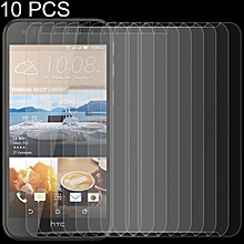 10 PCS 0.26mm 9H 2.5D Tempered Glass Film for HTC Desire 830
