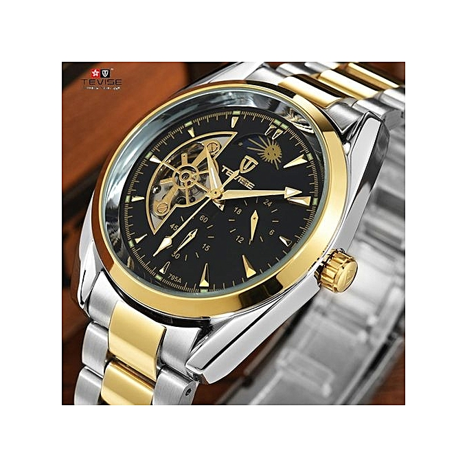 Best Automatic Watches >> Tevise Tevise Men Watches Top Brand Mechanical Watch Luxury Luminous