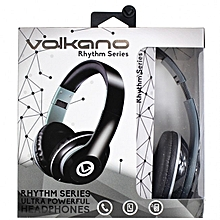 Volkano Rhythm Series Headphones - Black