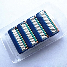 Manual five-layer razor blade