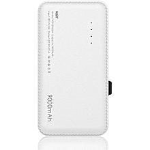 9000mAh Real Capacity Powerbank (White)