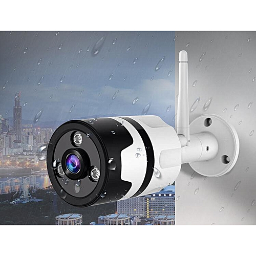 HD 960P Outdoor Waterproof IP Camera WiFi Surveillance Network CCTV  Security Camera Night Vision Outdoor IR-CUT Outdoor Baby Monitor (16GB)  TXSHOP