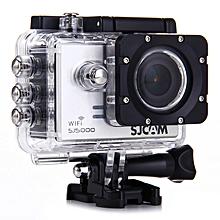 WiFi Sports Camera Novatek 96655 14MP 1080P 170° Lens 2.0 Inch Waterproof HD Camcorder Car DVR - Silver