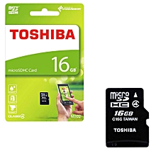 Micro SD Memory Card 16GB Capacity Without Adapter - Black