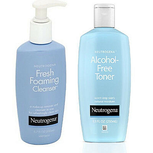 Fresh Foaming Cleanser + Alcohol-Free Toner 'Set'
