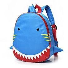 Baby Boys Girls Kids Shark Pattern Animals Backpack Toddler School Bag 825e01dfe3f3a