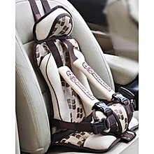 Safety Child Car Seats Portable Soft Seat's Cushions - Beige