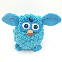 Plush Interactive Toys phoebe 6 Color Electric Pets Owl Elves Plush toys Recording Talking Toys Gifts - Blue