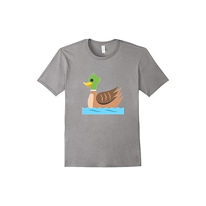 26f2c476d New Mallard Duck Emoji Fashion Short Sleeved T-shirt For Men Funny Hunting  Tee Shirt
