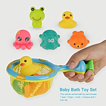 Cartoon Animal Infant Baby Bath Toys Interesting Children Water Play Bathing Toy Set