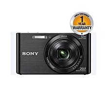 DSC-W830 - Cybershot Digital Camera - 20.1MP - 6x Optical zoom - Black