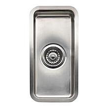 Ohio Single Bowl Sink - Square - 40cm x 40cm x 18cm - Silver