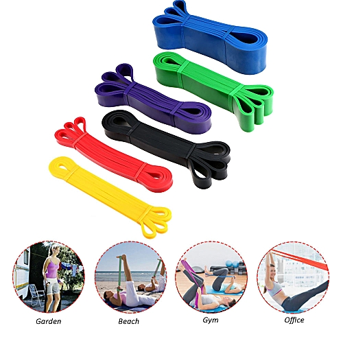 4d88e1790a Generic Pull Up Assist Bands Latex Stretch Resistance Loop Bands Yoga  Bodybuilding Muscle Workout Fitness Elastic Band